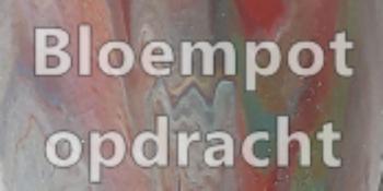 HI Art G&A - Bloempot - Afgestemd; in Opdracht