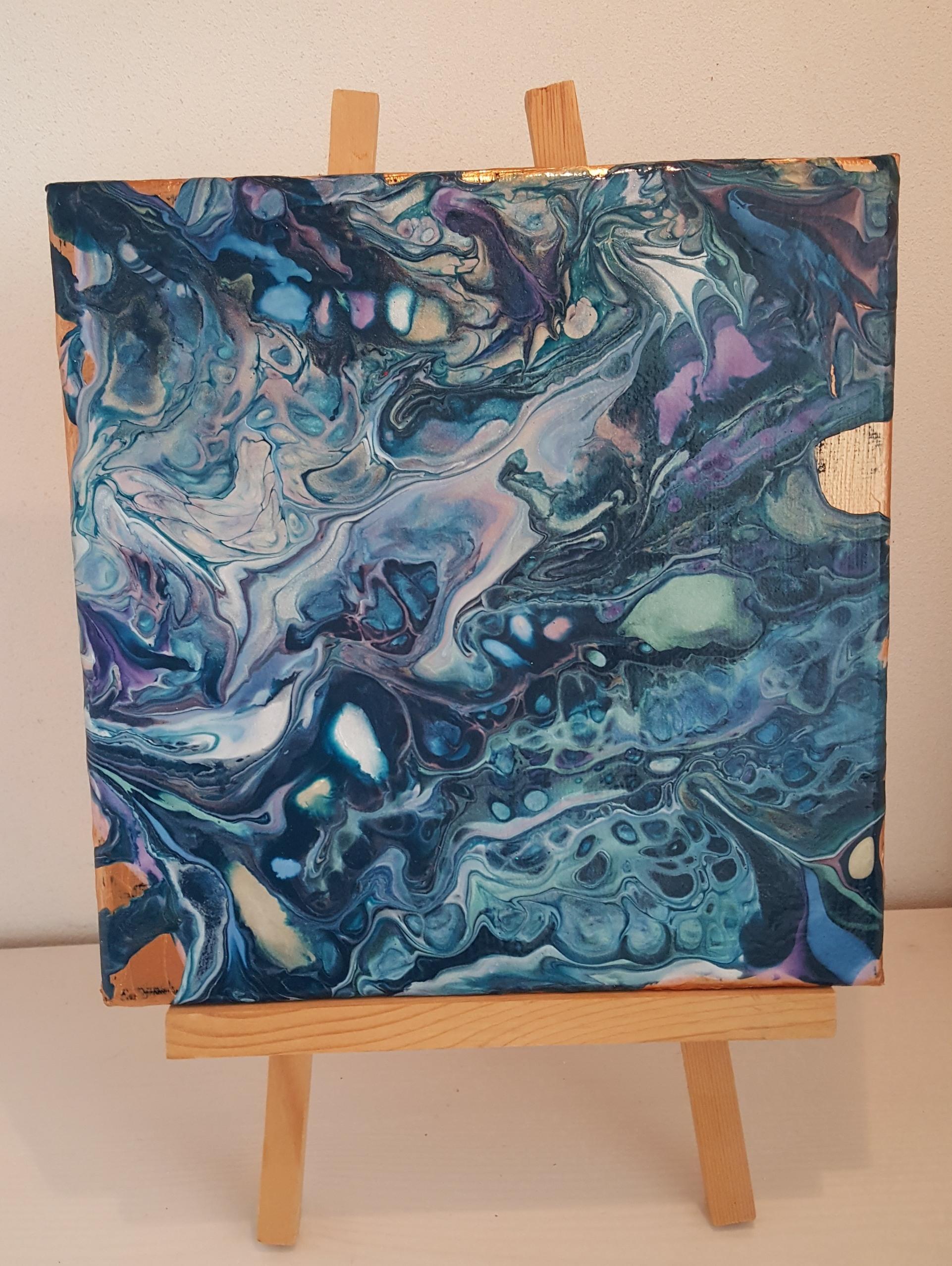 HI Art Medium - Blue Colored
