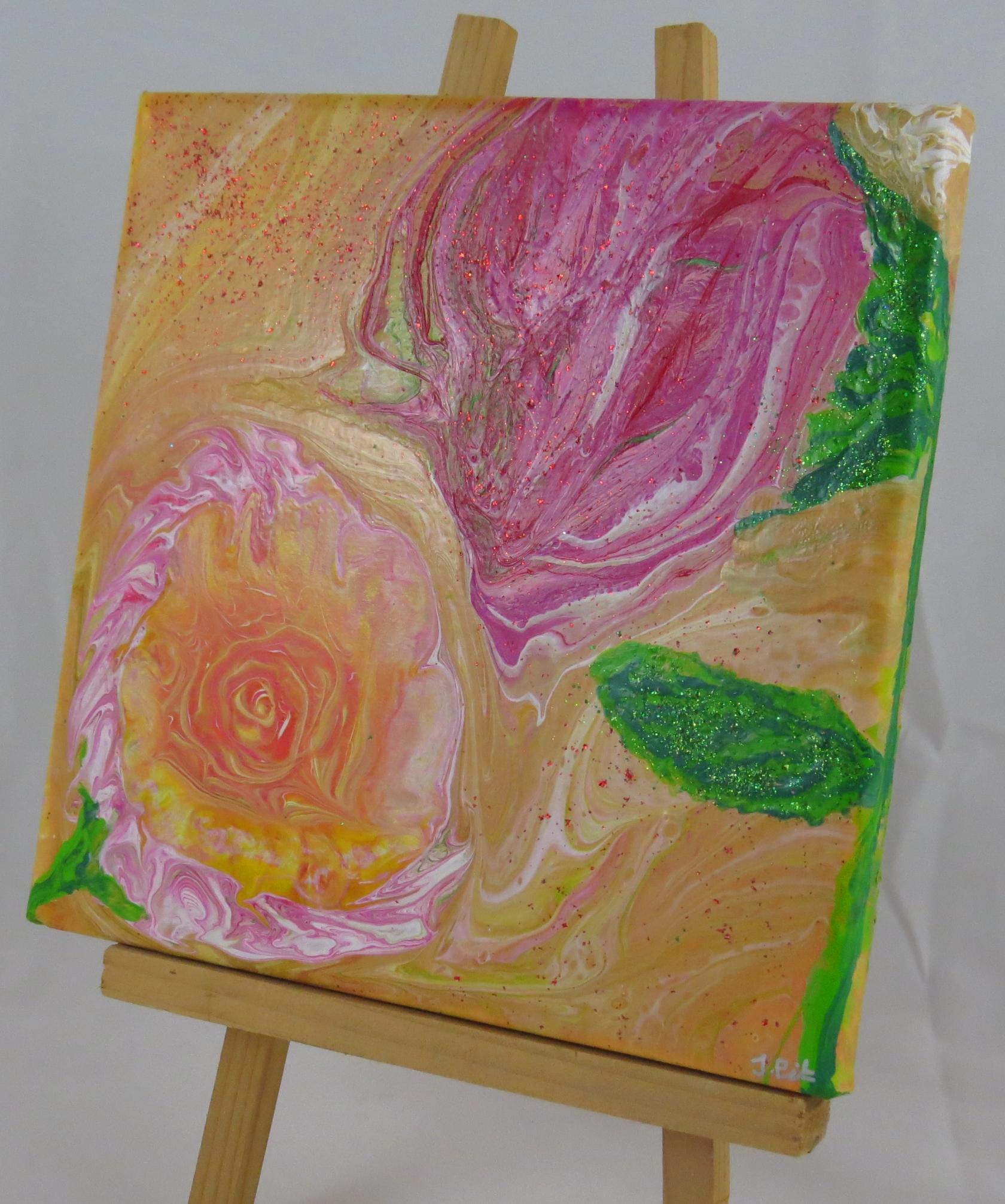 HI Art Medium - Flowers